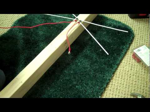 How to Build a 4-bay Bowtie Antenna part 1