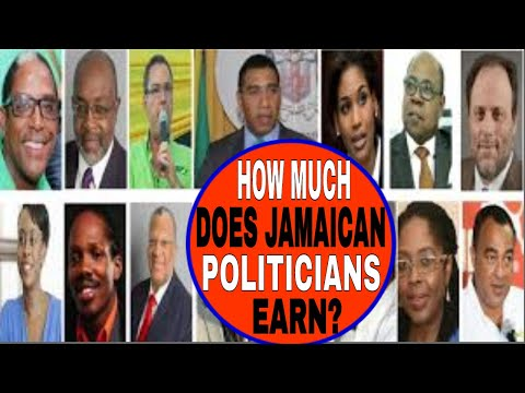 SALARIES of Jamaican POLITICIANS and their WORKERS  - Teach Dem