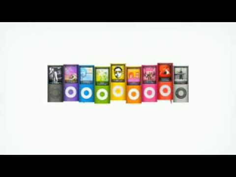 iPod Nano 4th Generation Ad