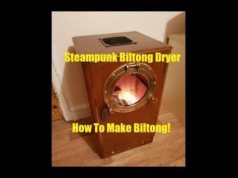 Steampunk Biltong Dryer & How To Make Biltong!