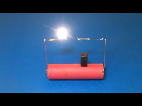 Experiment magnet On/Off switch , Basic of technology