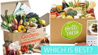 Gousto VS Hello Fresh - Recipe Box Comparison/Unboxing