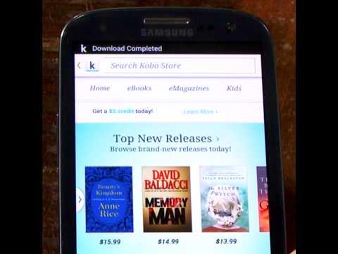 Buying Kobo eBooks on Android Device