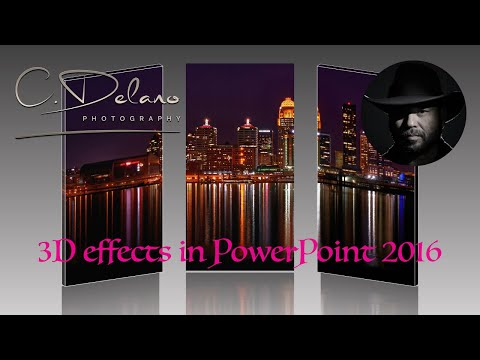 PowerPoint 2016 made easy - fast 3D effects and animations