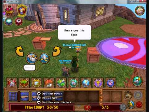 Wizard101 floating rug glitch