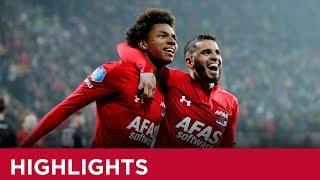 Highlights AZ - FC Emmen | Eredivisie