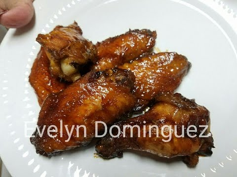 How  to make Honey Glaze Baked  Chicken Wings