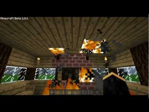 Minecraft: Fireproofing Your House!