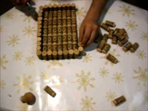 How to make a box with wine corks