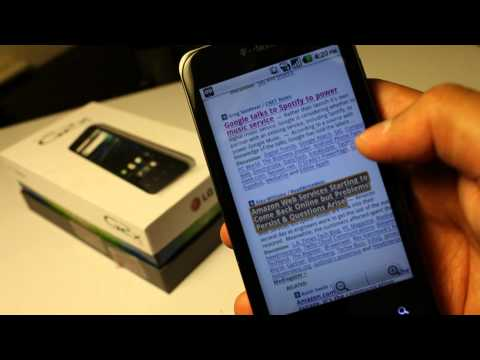 T-Mobile G2x Review. Dual core Android on Tmobile with 4G speeds