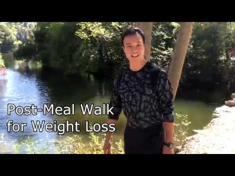 Post-Meal Walk for Weight Loss