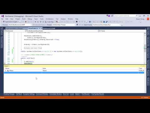 Using Visual Studio to investigate a client side memory issue using DMP Files