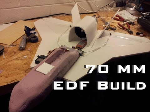 Scratch Built 70mm EDF Jet Built for Speed - Build Video
