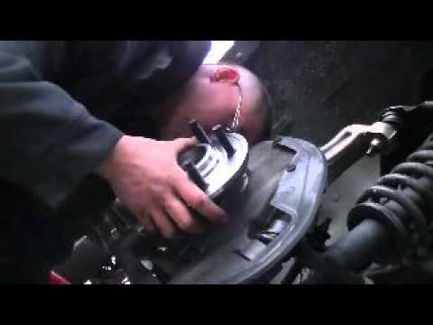 Wheel bearing/hub assembly & caliper replacement 2004 Ford Explorer 4.0L and brake bleed