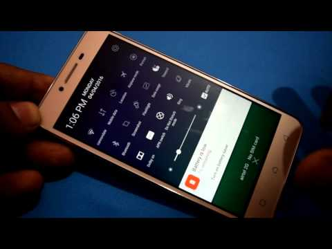How to take screenshot in Lenovo Vibe K5 Plus