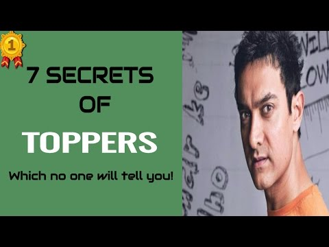 CRAZY INDIAN - 7 Secrets Of Toppers -  Study Like A Topper - Board Exams Preparation