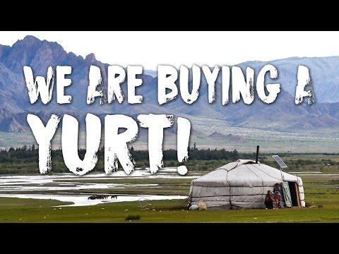 Big News - We're Buying a Yurt!!