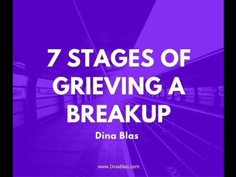 7 Stages of Grieving a Breakup