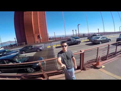 Go Pro San Francisco Bike Ride - Golden Gate Bridge