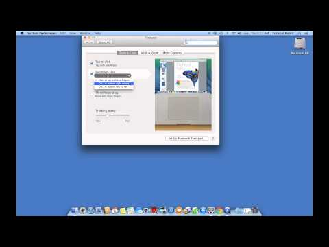 Mac OSX: How to enable right click