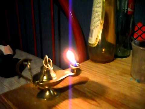 Aladdin Style Lamp