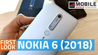 Nokia 6 (2018) First Look   Camera, Specs, Features, and More #MWC18