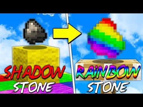 CREATING RAINBOW STONE!