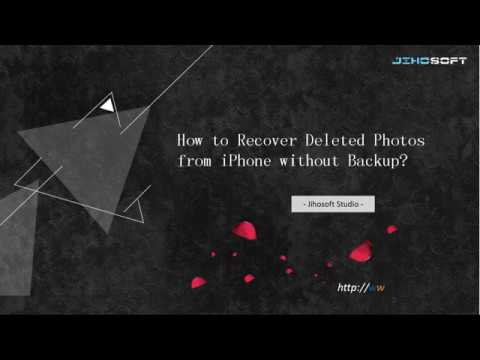 Recover Deleted Photos from iPhone without Backup