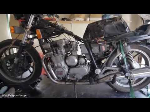 Wiring a motorcycle up from scratch with minimal wiring (Japanese bike)