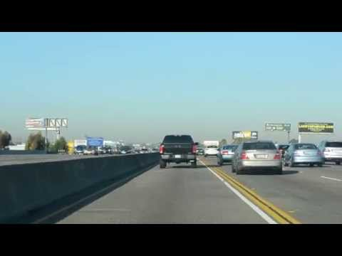 Morning traffic jam in Los Angeles - 21. 10. 2015