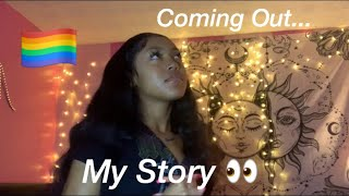 My Coming out Story..