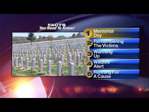 May 28th Morning Rush: Veterans across New Mexico remembered on Memorial Day