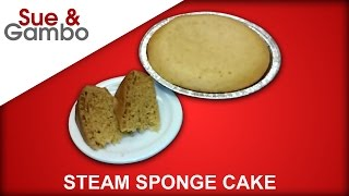 Chinese Steam Sponge Cake