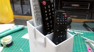 How To Make A Remote Control Stand - DIY Crafts Tutorial - Guidecentral