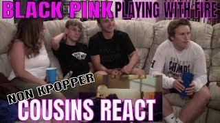 BLACKPINK - PLAYING WITH FIRE (불장난) MV Reaction - PakVim
