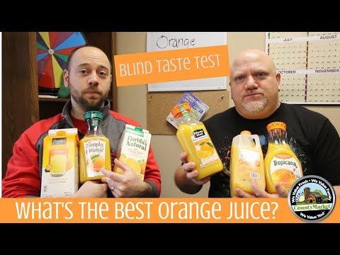 What's the Best Tasting Orange Juice? Blind Taste Test Rankings