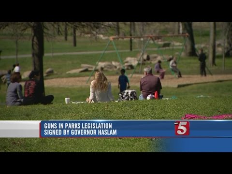 Gov. Haslam Signs Bill To Allow Guns In All Tennessee Parks