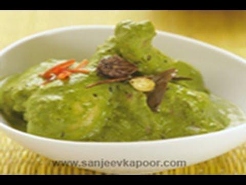 Chicken Hirwa Masala (Green Chicken Curry)