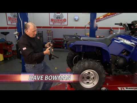 Motohead Garage featuring Bison ATV Bumpers