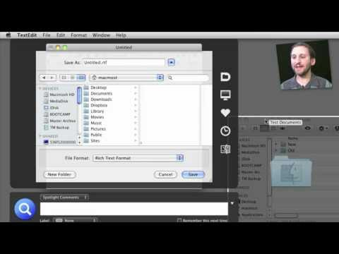 Default Folder X (MacMost Now 448)
