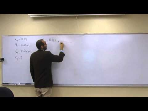 Calculate Final Volume From Liquid Displacement 005