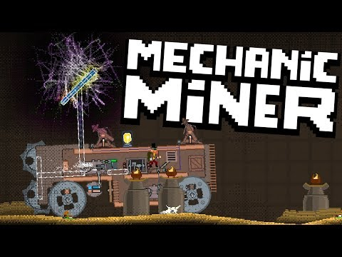 Mechanic Miner - Boss Kill & Mining The Flux Vortex - WHAT IS THIS WORM!? - Mechanic Miner Gameplay