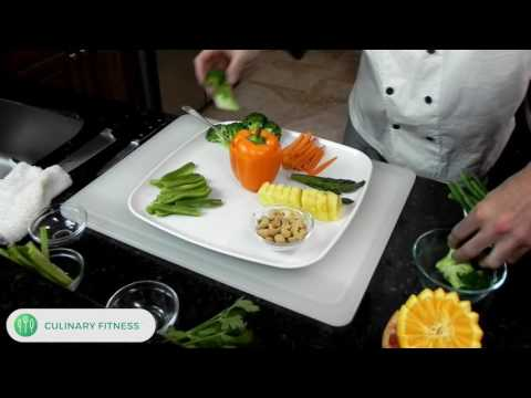 Simple Crudite Platter: Chef Dennis Berry | Culinary Fitness | Healthy Cooking Videos
