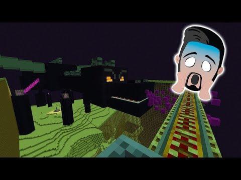 DRACHEN-ACHTERBAHN MIT PORTAL im Notchland Freizeitpark bei Minecraft! Spiel mit mir Games mit Kaan
