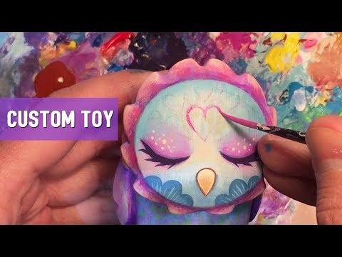 Painting a Vinyl Art Toy