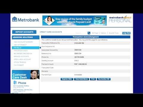 Investing using Metrobank Direct 2014