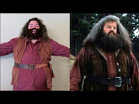 How To Make A Hagrid Costume,  Super Easy!