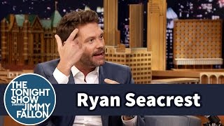 Ryan Seacrest Broke A Glass Door While Naked