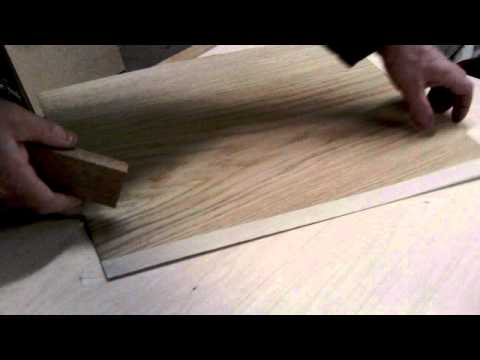 Very basic veneer cutting
