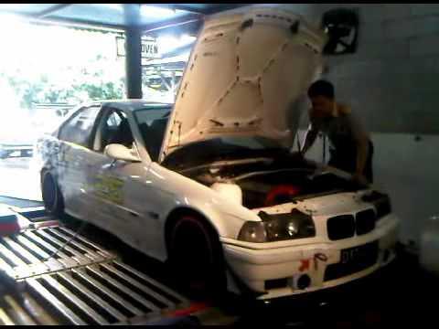 Dyno tuning EUROCHIP on BMW 320i E36 M50B20 Race Car - Group